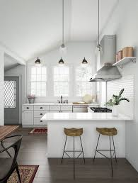 Shop Our Kitchen Department To Customize Your Classic White And Wood