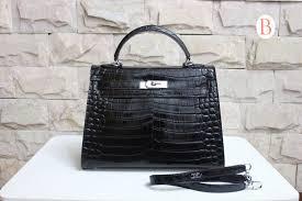 hermes kelly so black 32cm. hermes black crocodile kelly bag so 32cm i