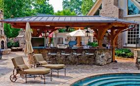 Outdoor pool and bar designs Video and Photos Madlonsbigbearcom