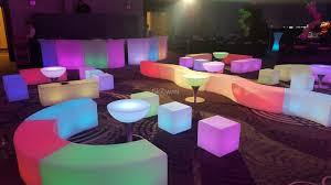 Glow Furniture Glowmi Led Furniture Party Rental Bundle Platinum Package