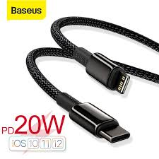 <b>Baseus Tungsten Gold</b> Fast Charging Data Cable Type-C to iP PD ...
