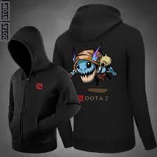 dota 2 slark hooded sweatshirt zip up hoodie dota 2 store