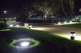 in ground lighting. In-ground Bega Fittings Complement The Mini-bollards In Ground Lighting D