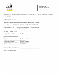 Beautiful Employment Verification Letter Template Word