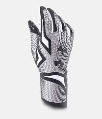 under armour nitro gloves. black , zoomed image under armour nitro gloves t