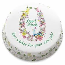 Good Luck Cake Designs Good Luck Birdies Cake