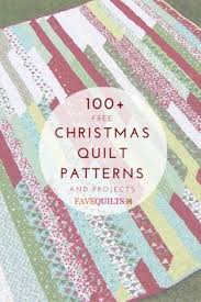 Christmas Quilt Patterns Cool 48 Best Free Christmas Quilt Patterns Images On Pinterest In 48