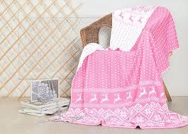 <b>Плед</b> ТД Текстиль Скандинавия, 8987, розовый, 150 х 200 см ...