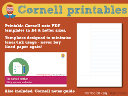 Cornell Notes Printable Templates Guide