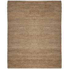 safavieh natural fiber 10 x 14 hand woven jute rug in natural nf212a 10