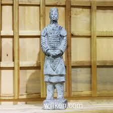 xi an antique statues replica garden decor terracotta warriors statue