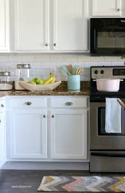Kitchen Backsplash How To Install Delectable Faux Subway Tile Backsplash Wallpaper