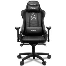 Компьютерное <b>кресло Arozzi Gaming Chair</b> Star Trek Edition Black ...