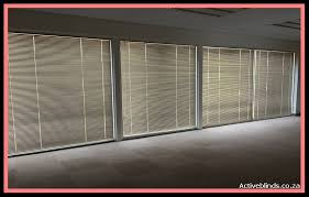 office window blinds. 25mm Aluminium Venetian Office Blinds Covering Four Large Windows Window F