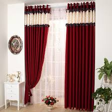 MUEBLES DE SALON A SOFÁ NEGRO  Living Rooms Room And BlackRed Curtain Ideas For Living Room