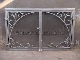 iron fireplace screen. Fireplace Screen 4.4 Iron A