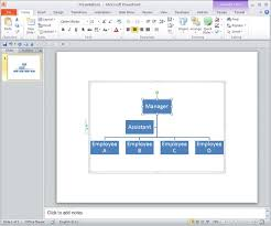 Smartart Powerpoint Organizational Chart Change Layout Of Organization Chart In Powerpoint 2010