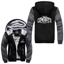 Nfl Dallas Cowboys Thick Fleece Jacket Dallas Cowboys Fan