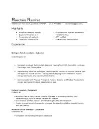PTA resume. Raechele Ramirez 1833 Green View Court, Zeeland, MI 49464 (616)  304- ...
