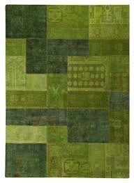 vintage renaissance area rug  green