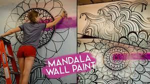 on mandala wall art with mandala wall art no stencils youtube