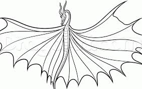 Small Picture How To Train Your Dragon Coloring Pages Monstrous Nightmare