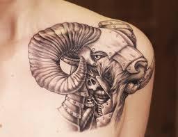 Tetovani Motiv Znameni Berana 3jpg Motivy Tetování Vzor Tetování