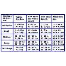 Candies Size Chart Doggles Size Chart Candies Online Pet Storecandies Online