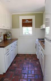 Brick Kitchen Floors This That Kitchen Floors