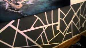 Cool Wall Designs How To Make A Cool Abstract Wall Design Youtube