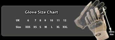 Military Army Size Chart Information In Cm
