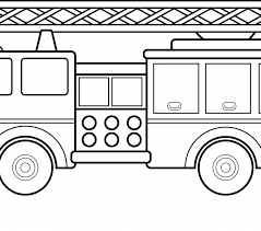 Small Picture Fire Truck Coloring Pages Free Printables Archives Best Coloring