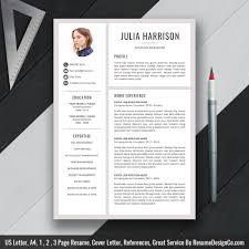 Creative Resume Template Word Resume Professional Cv Resume