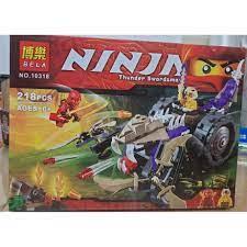 Lego NinjaGo Siêu Xe Chiến Đấu Ninja Đỏ Cao Cấp Phiên Bản Giới Hạn