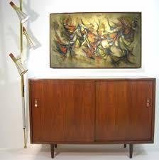 Modern Furniture Designer Delectable Vintage Select Glenn Of California Credenza Furnish