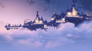 video games digital art bioshock infinite bioshock columbia bioshock clouds sky cityscape