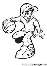 Kleurplaat Basket Afb 7020 Images