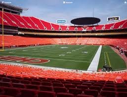 Chiefs Seating Chart With Rows Arrowhead Stadium Section 108 Seat Views Seatgeek