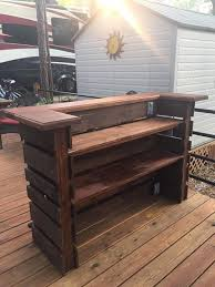 Other Diy Pallet Patio Bar Stylish Throughout Other Diy Pallet Patio