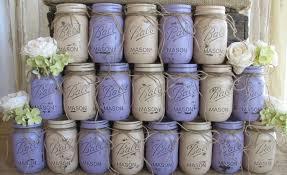 Ball Jar Decorations 60 Pint Mason Jars Ball jars Painted Mason Jars YOUR COLORS 48