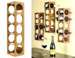 wood wine rack wall mount mountable mounted reclaimed wooden glass holder ideas bottle plans ne hanging racks wo
