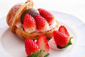「イチゴ デザート」の画像検索結果