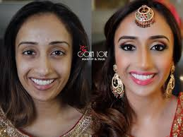 makeup and hair for sangeet indian wedding