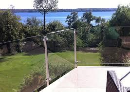 invisirail glass railing panel invisirail glass railing panel