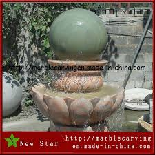 china garden decoration outdoor and indoor stone rolling ball water fountain fountain ball water fountain r77