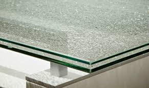 crackled  x  rectangle dining table top