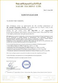 Civil Engineer Experience Certificate Sample Doc New Resume ...