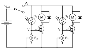 build a speedy light tracking robot bluebot project 2 science circuit diagram for light following robot