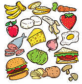food clipart. Unique Food HEALTHY FOOD COLOR VERSION Intended Food Clipart
