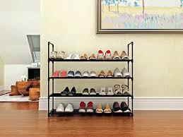 shoe rack home like 4 tier tower metal storage the lazy zen plans diy design ideas